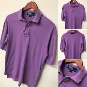 Polo Ralph Lauren Purple Short Sleeve Polo Shirt